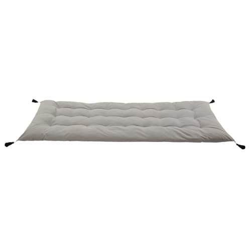 Grey Cotton Futon Mattress With Tels 90x190