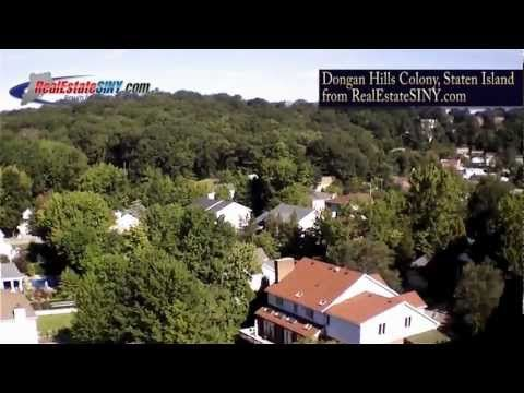 Dongan Hills Colony, Staten Island from above.| RealEstateSINY.com