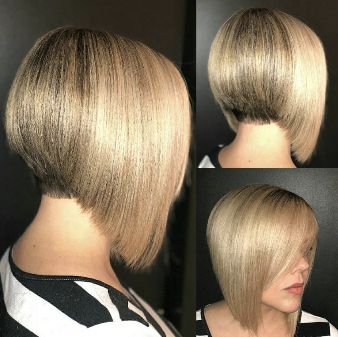 Pin By Virginia Phelps On Hair Styles Concave Bob Concave Bob Hairstyles Bob Hairstyles