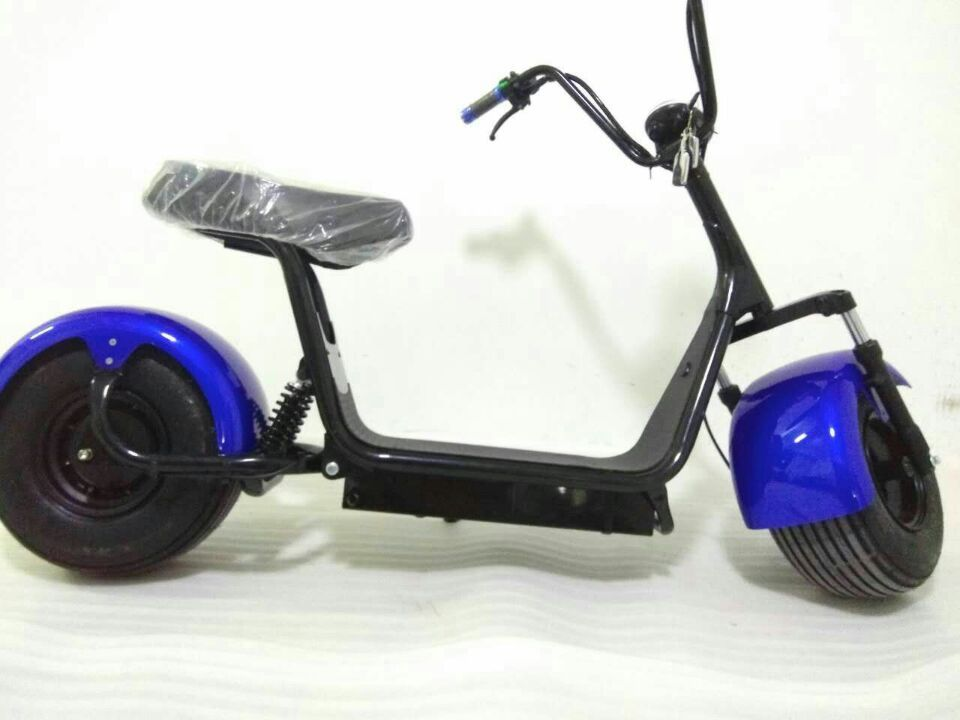 1000w60v Citycoco Seev Woqu Electric Fat Tire Scooter