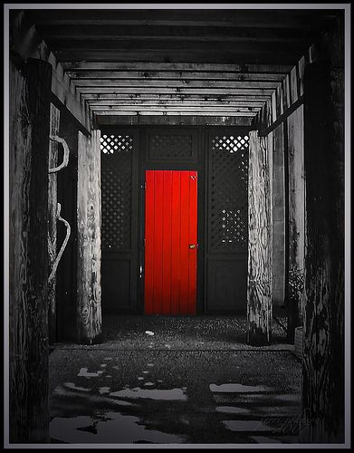 Red Door I See A And Want To Paint It Black Lol Think The Bakery Painted