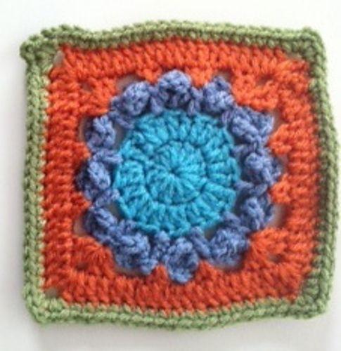 Granny Square 71 Free Pattern Crochet Pinterest Granny