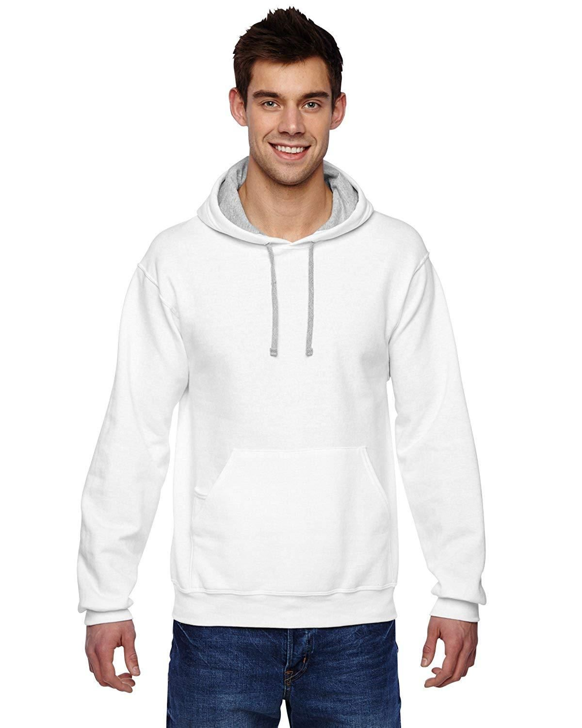 73a3f124 Fruit of the Loom - Sofspun Hooded Pullover Sweatshirt - SF76R ...