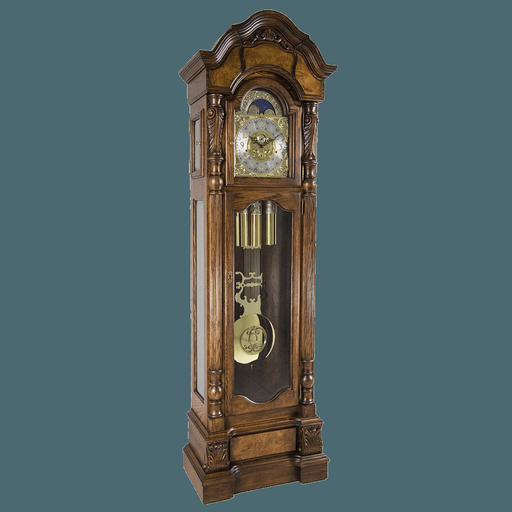 Hermle Anstead Tubular Triple Chime Grandfather Clock 010953041171 Dark Oak Grandfather Clock Clock Antique Wall Clock