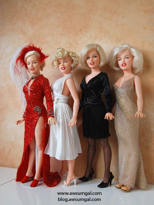 Marilyn Monroe Living Room Decorations: Marilyn Monroe Dolls...I Would LOVE 2have Them, Even Just