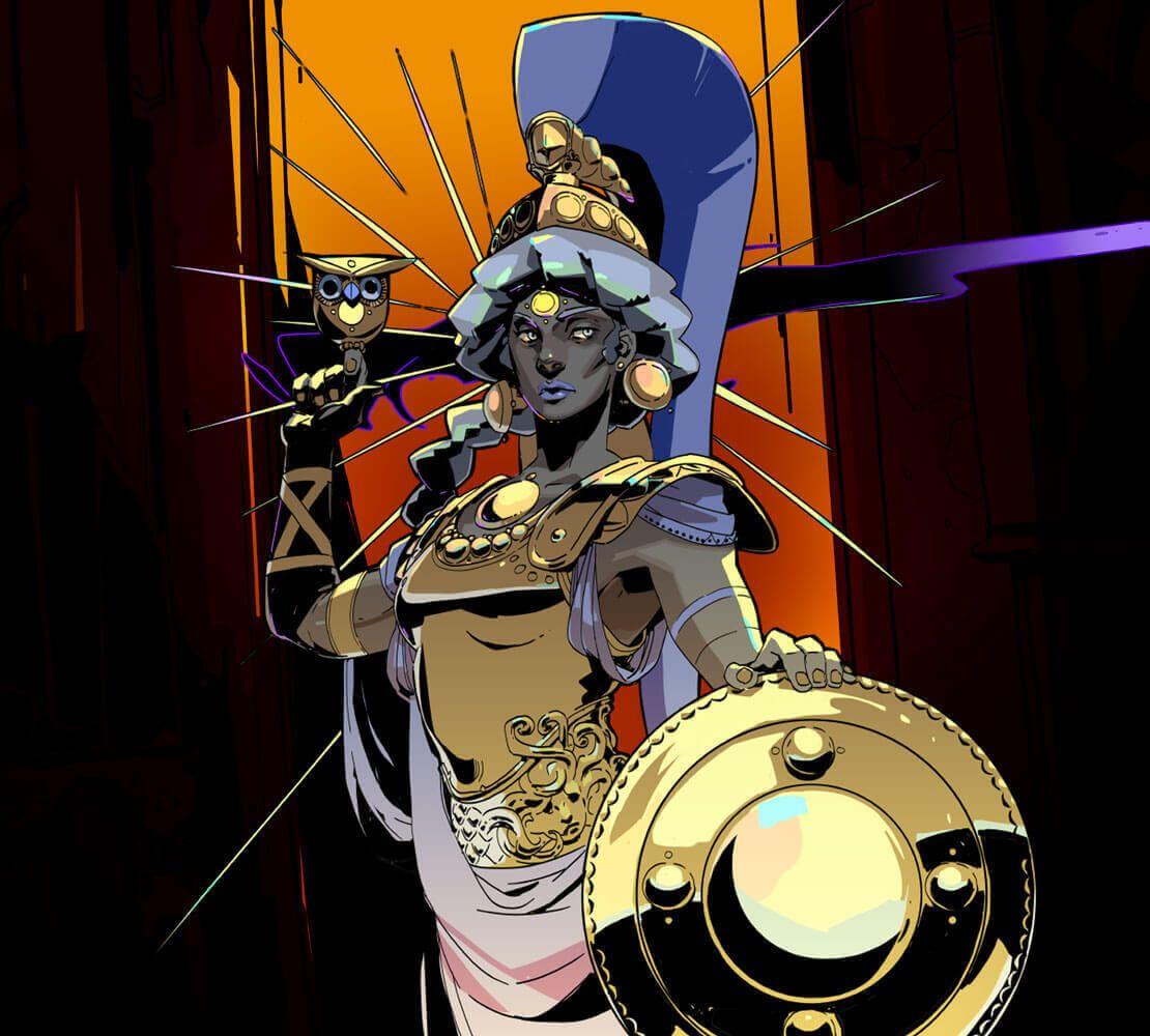 Supergiantgames Hades Athene Hades Fantasy Concept Art