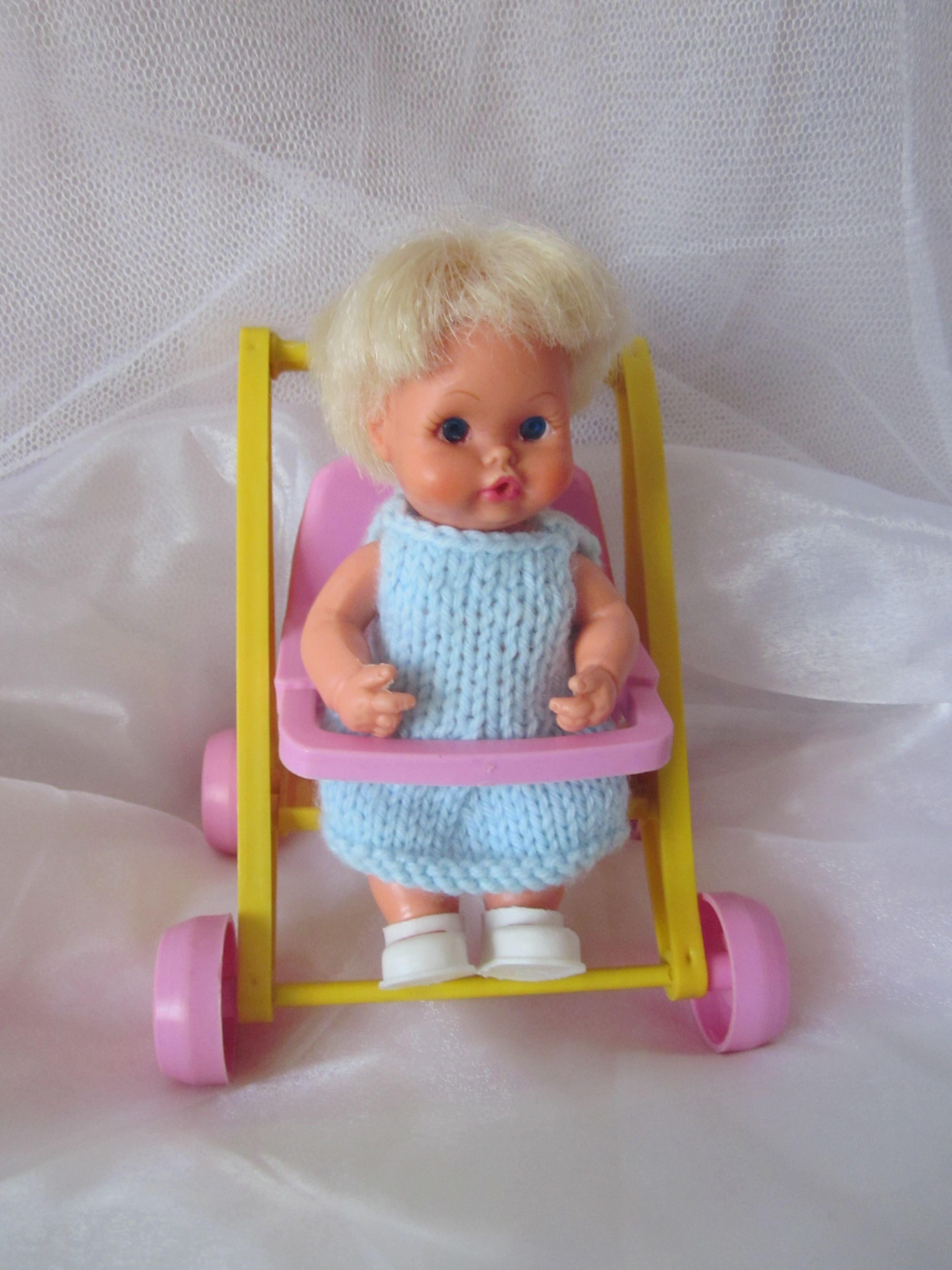 Sweet April in her 1972 Stroller Vintage DollsStrollers