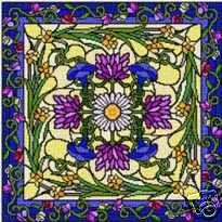 Landmark Tapestries & Charts Garden at Daybreak Cross Stitch Pattern