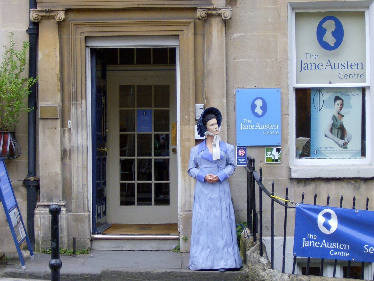 The Jane Austen Centre (Bath, Somerset, England)   This was awesome!