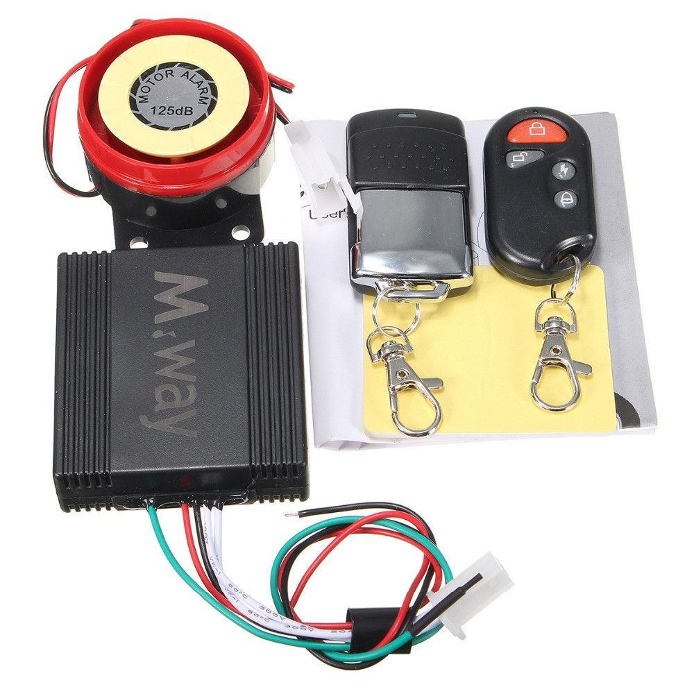 motorcycle motorbike bike scooter anti theft security alarm 125db 2 rh pinterest co uk