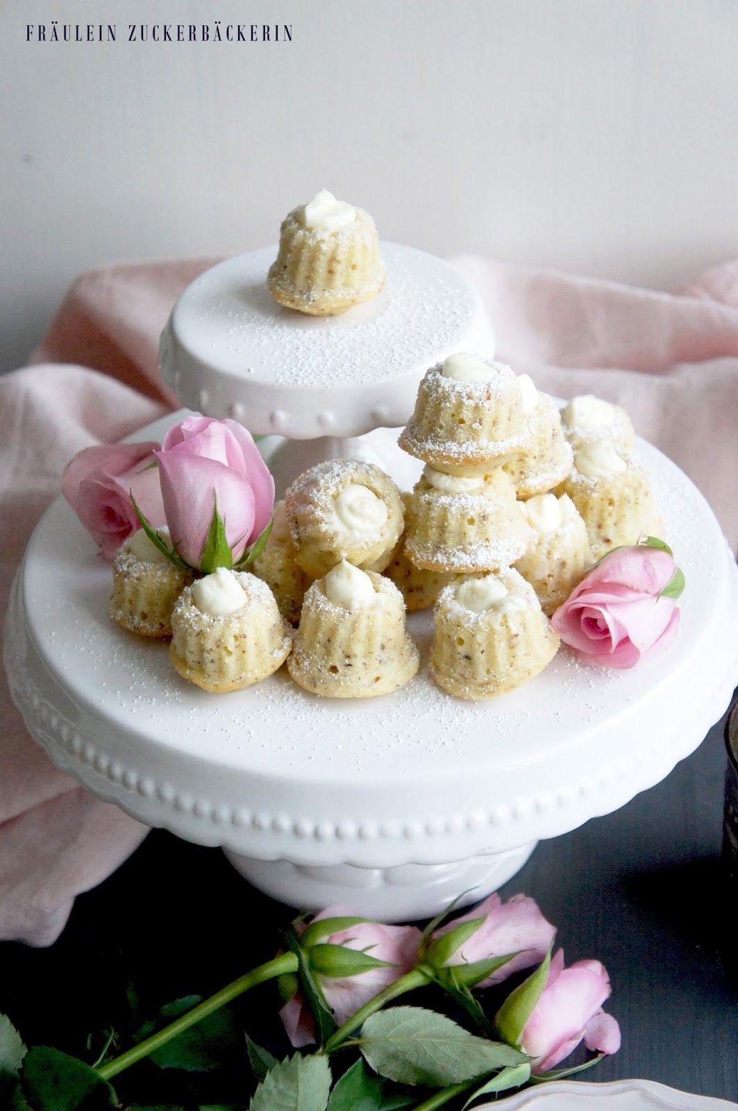 Valentinstag, Backen Für Den Liebsten, Mandelkuchen, Gugelhupf, Mini Gugel,  Mini Gugelhupf