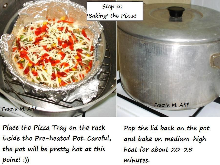 Pizza baked without an oven fauzias kitchen fun glorious pizza baked without an oven fauzias kitchen fun forumfinder Images