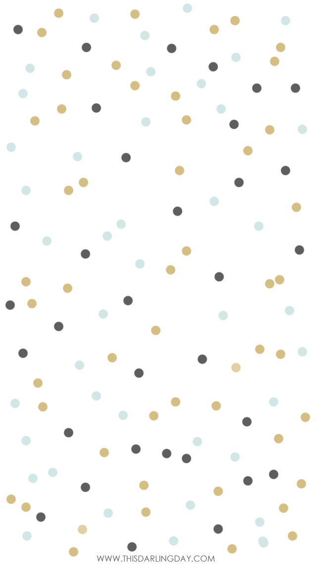 White navy mint confetti spots iphone phone background wallpaper ...