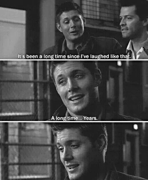 and then the whole supernatural fandom simultaneously burst into tears.... damn you cas