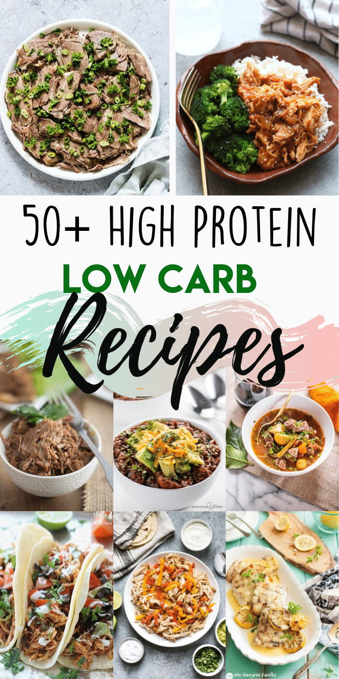 If you're looking for the easiest way to lose weight, here it is - low carb diet. These 50+ high protein low carb recipes will help in weightloss while also keeping you healthy! #protiendiet