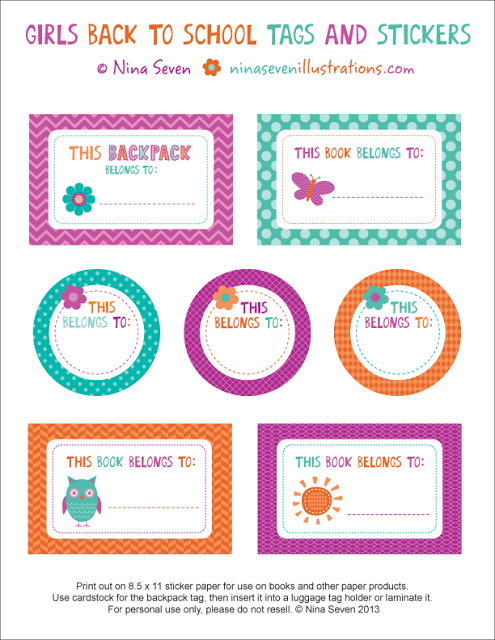 we love to illustrate back to school free printables kid stuff rh pinterest com