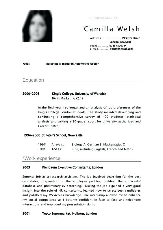 Resume Examples Undergraduate #examples #resume #ResumeExamples