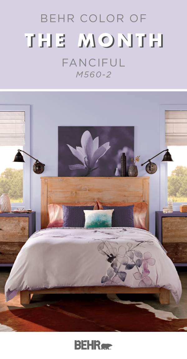 color of the month fanciful colorful rooms and spaces behr rh pinterest com