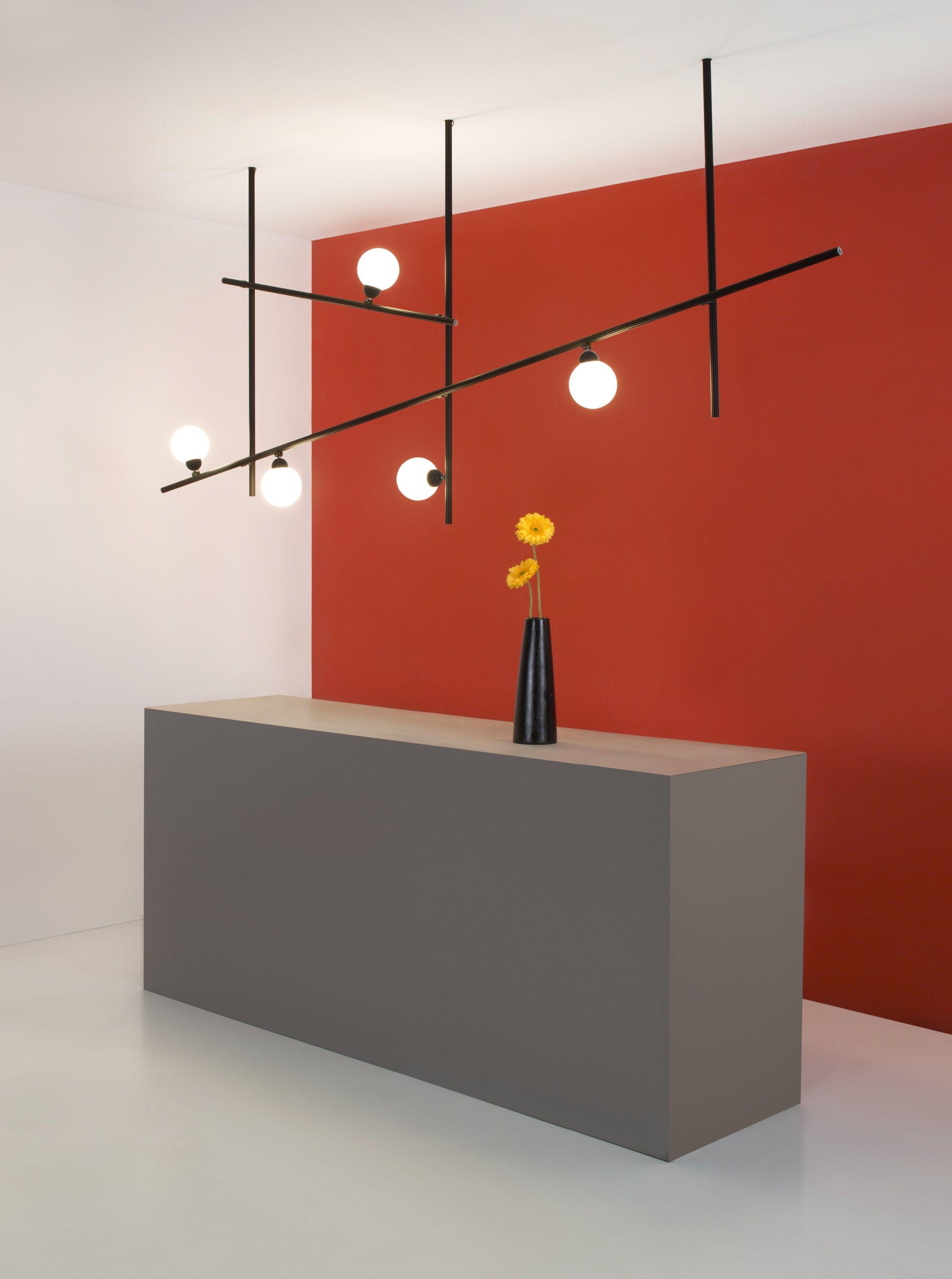Freeline F44 By Fabbian, Led Pendant Lamp Design Flynn Talbot