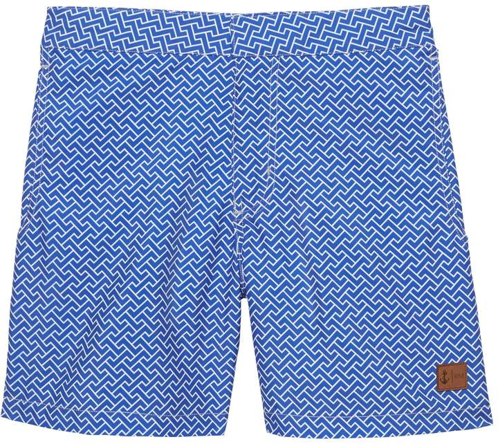 e174be35a718e retromarine | Printed Swim Short | 短裤 | Swim shorts、Patterned ...