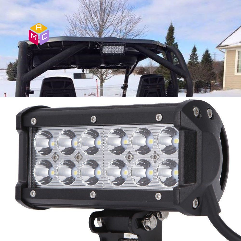 Best 6 led work light bar can am commander maverick 1000 utv side best 6 led work light bar can am commander maverick 1000 utv side by side aloadofball Gallery
