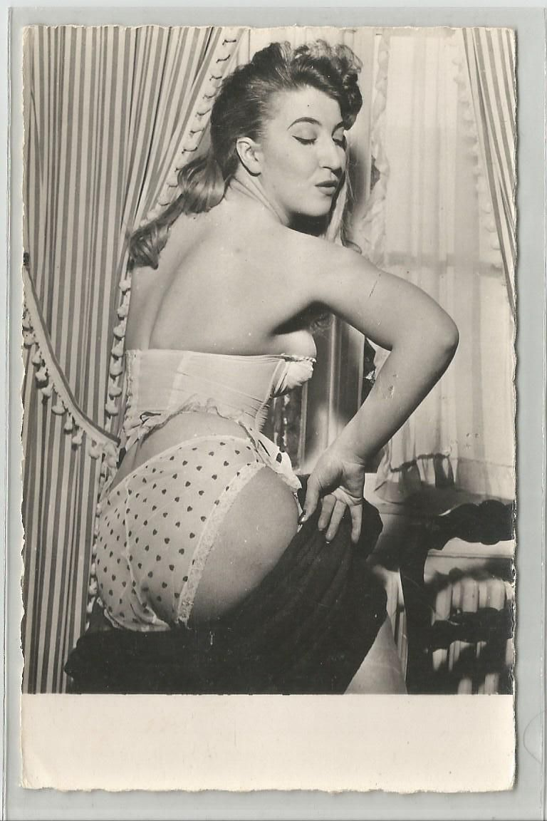 woman in underwear undressing real photo vintage 1960s | ebay | i