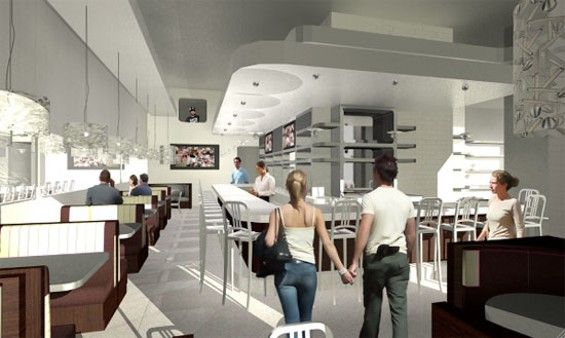 Spacecraft A Rendering Of The Interior Of Kitchen 24 In West