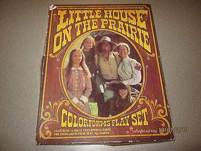 Little House On The Prairie Vintage 1978 Color forms Play Set Rare - my most favorite toy as a child! :-)
