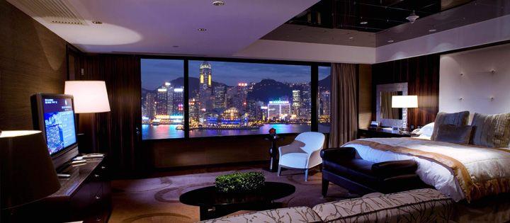 Intercontinental Hong Kong Ceo Suite Luxury Hotel Room Hotels