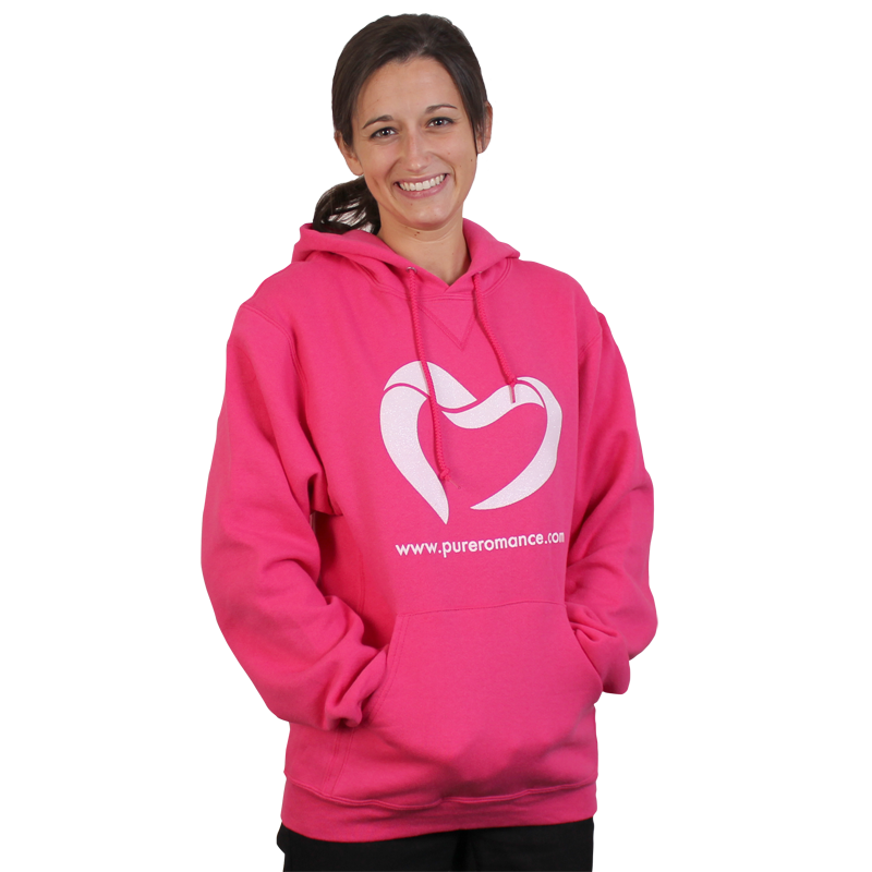 WANT Pure Romance (by Barbie) Pullover Hooded Sweatshirt