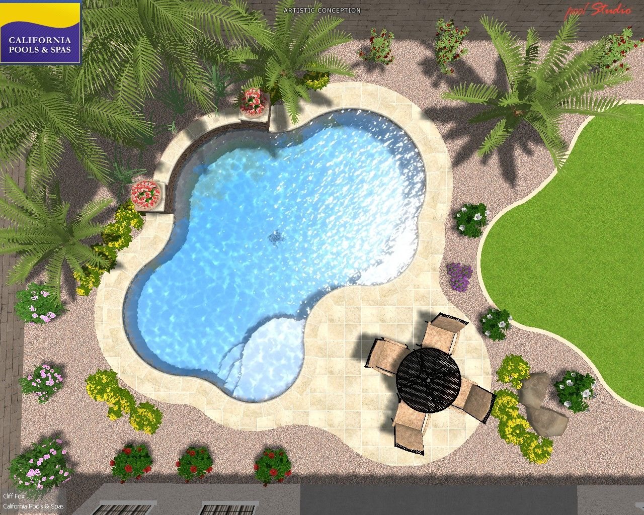 3d special2 006 don 39 t know dimensions but i like this for Pool design for volleyball