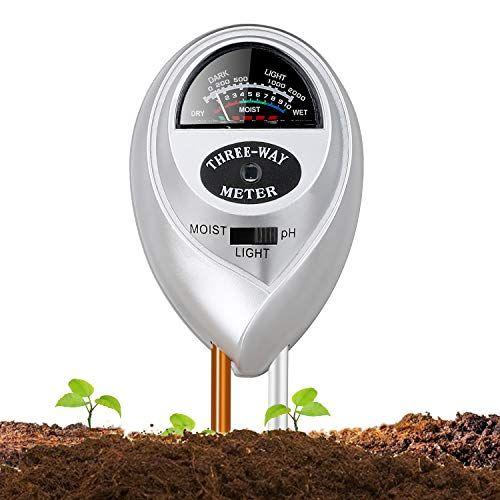 Soil Ph Meter Jellas 3 In 1 Soil Moisture Meter Moisture Sensor
