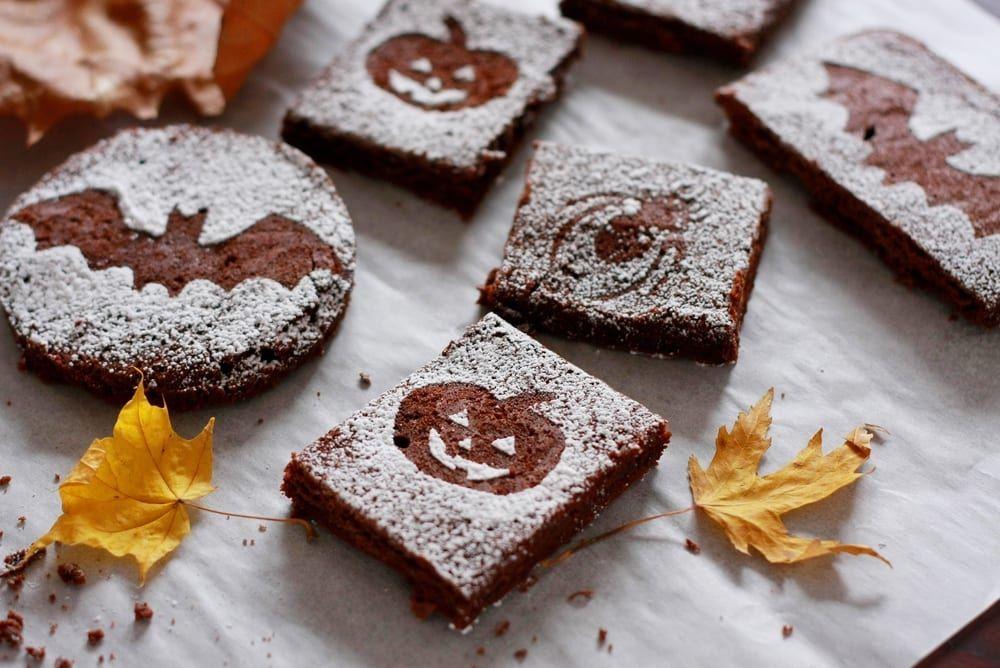 Brownies Especiales Para Halloween Con Dolce Gusto Recetín Receta Dolce Gusto Pepitas De Chocolate Recetas Halloween