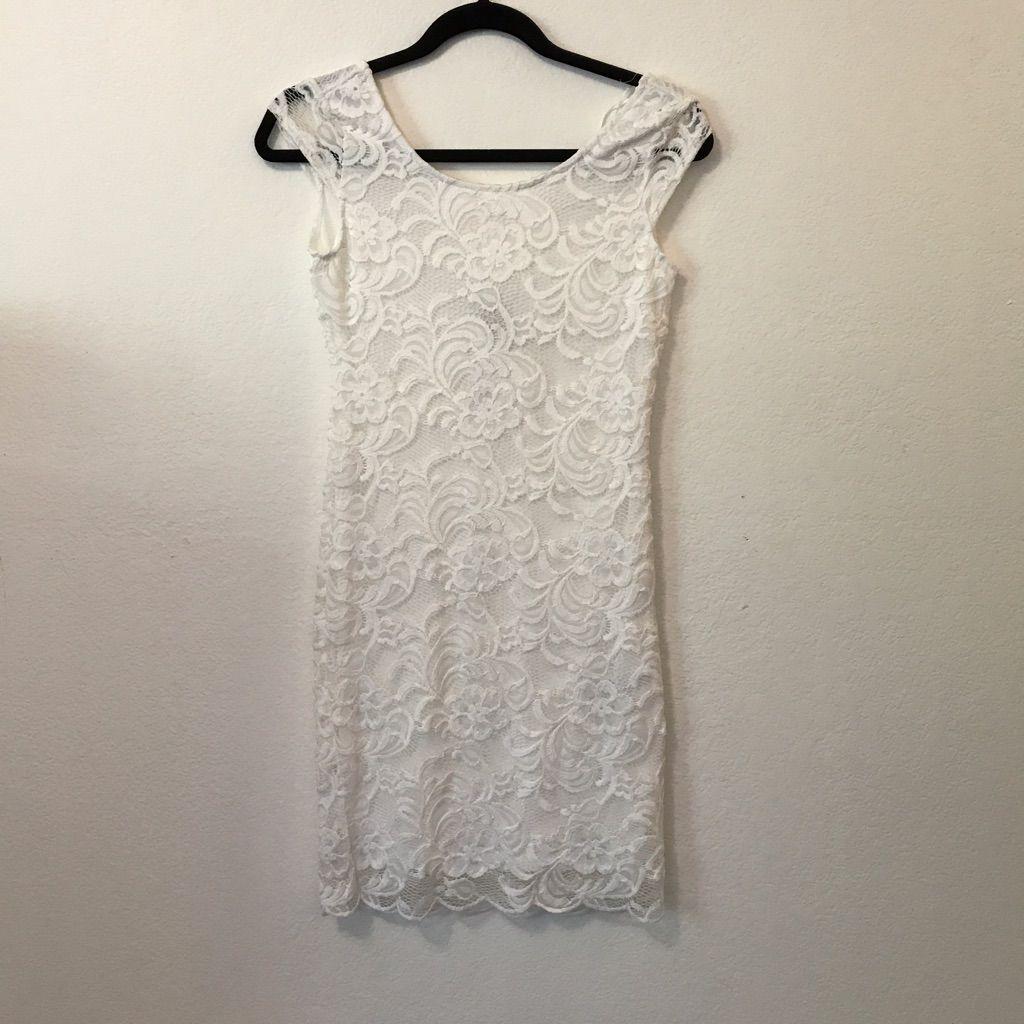 H&m lace dress white  HuM White Lace Dress  White lace dresses White lace and Products