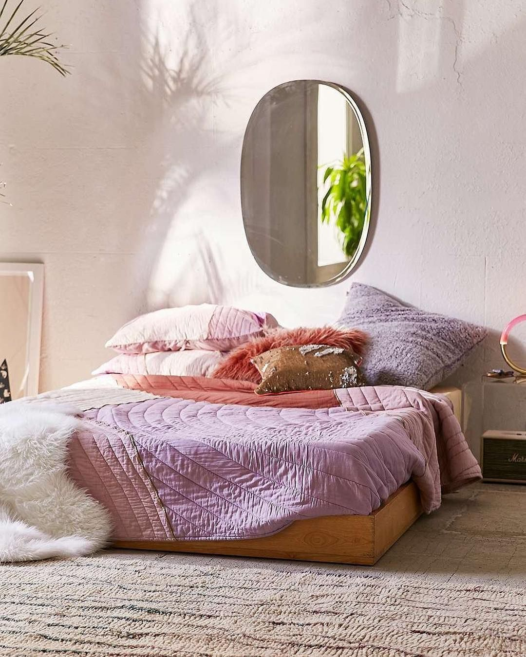 Bedroom Mirror Round Urban Outfitters Europe urbanoutfitterseu