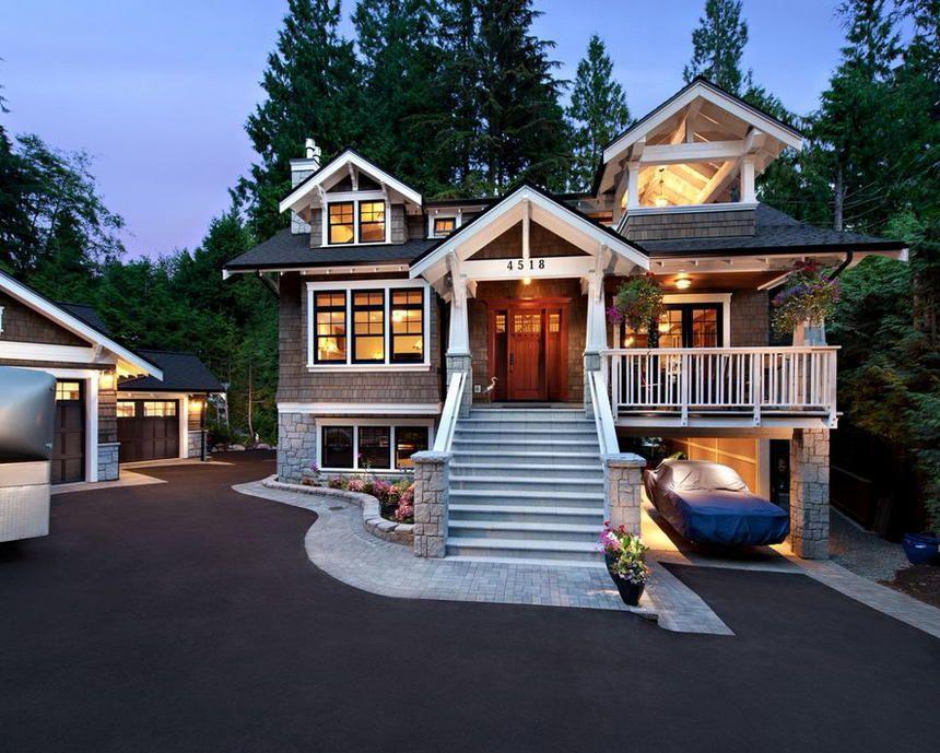 Enchanting And Dreamy Home Exterior Design Ideas