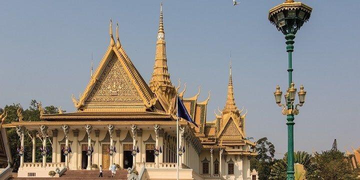 Royal Palace, Phnom Penh, Cambodia, Asia