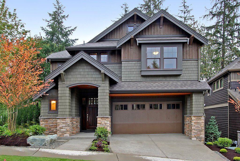 lower half stone siding house <3 brown/gray/tan