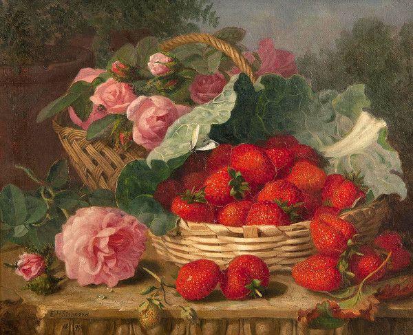 Célèbre Peinture -Nature morte Eloise Harriet Stannard | Natures mortes  DZ26