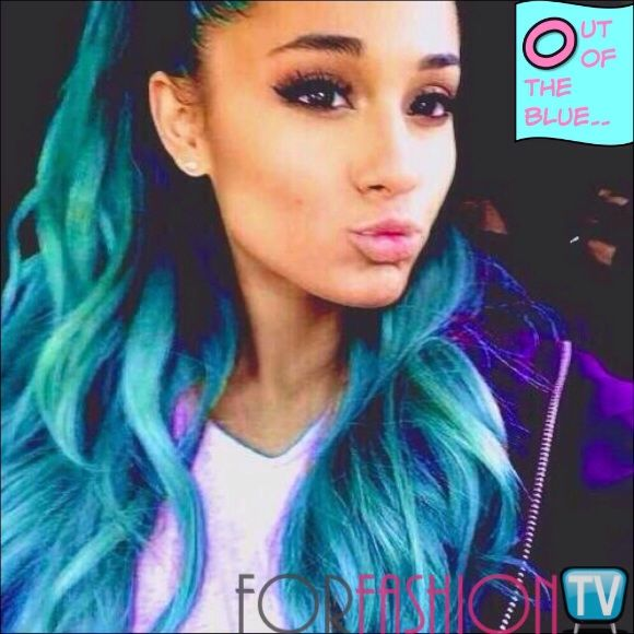 Arianagrande Surprised Us Big Time With A Hair Situation Out Of