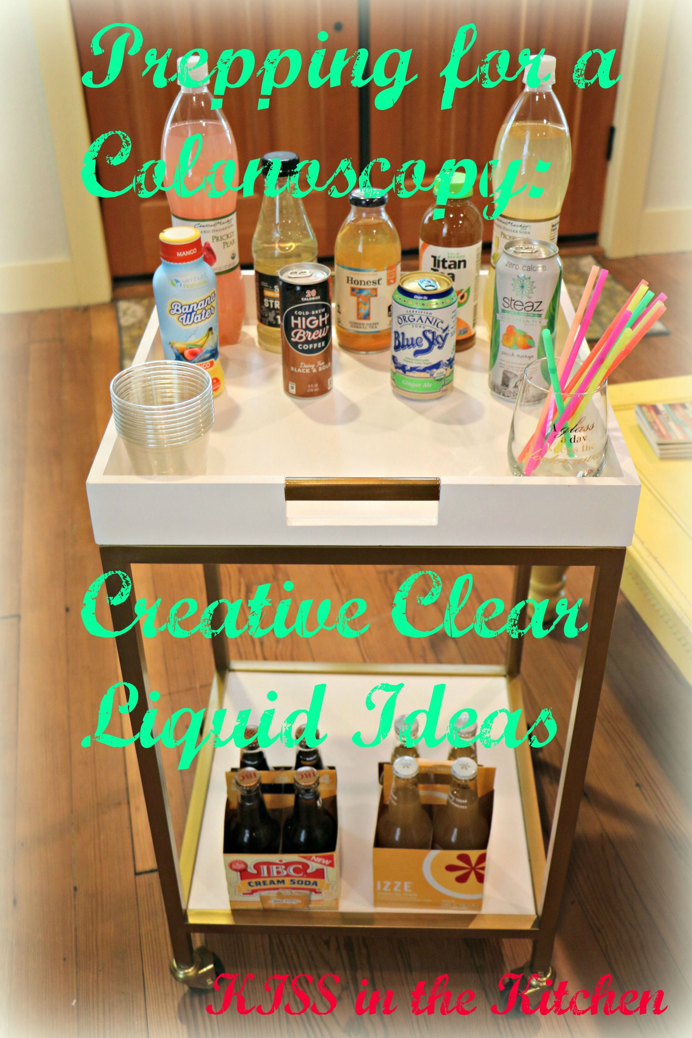 Creative And Comical Clear Liquid Options For Your Next Colonoscopy Clear Liquid Diet Liquid Diet Clear Liquid Diet Recipes