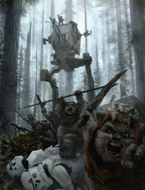 Battle of Endor Victory by Chris Scalf