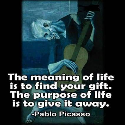 10 Signs You've Found Your Calling -  ProvidenceLife Coaching and Reiki Counseling -meaning of life purpose Picasso