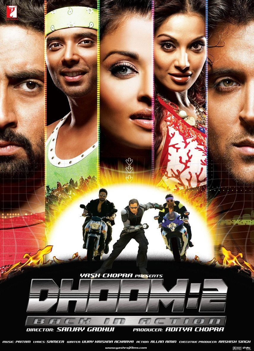 Dhoom 2: Back In Action (2006) | Dhoom 2, Bollywood movie ...