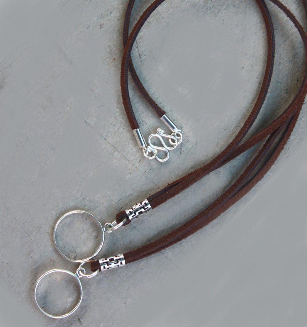 65a75d6c9c1d Eyeglass Holders for Men and Women. Unisex Glasses Holders. Sterling Silver  Simple Holder for Eyewear..  37.00
