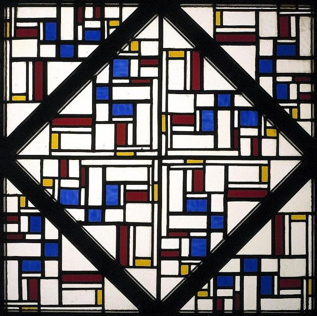 Dutch artist Theo van Doesburg (1883-1931)