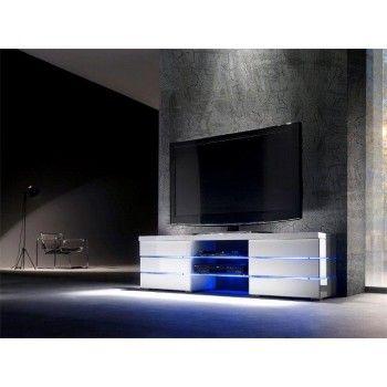 Tv meubel hoogglans LED Svenja - ARS
