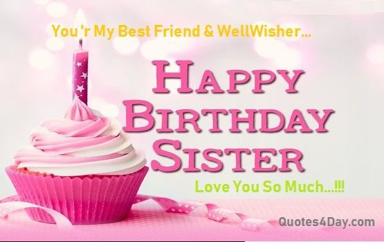 Happy Birthday Wishes for Sister Quotes #birthdayquotesforsister Happy Birthday Wishes for Sister Quotes #birthdayquotesforsister