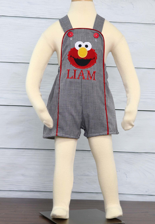 Elmo 1st birthday outfit boy elmo birthday boy outfit