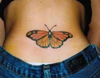 Lower Back Butterfly Tattoos Lower Back Tattoos Girl Back